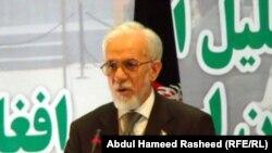 گلرحمن قاضی رییس کمیسیون مستقل نظارت بر تطبیق قانون اساسی افغانستان.