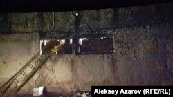 «Қаратас ауылындағы оба» фильміндегі қаңыраған елді мекен көрінісі.
