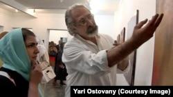 پاسخ به پرسش یک علاقمند در گالری آریا (تهران)