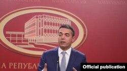 Министерот за надворешни работи на Република Македонија, Никола Димитров