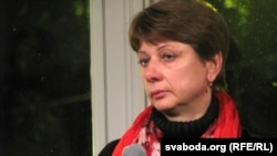 Lyubou Kavalyova, Uladzislau Kavalyou's mother,