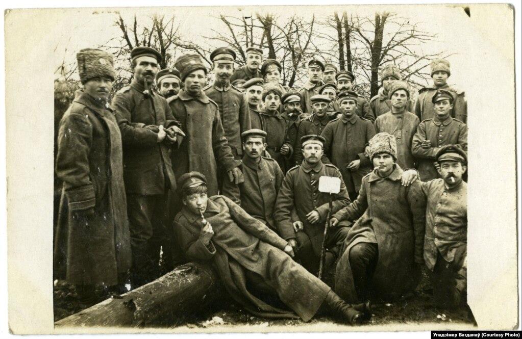 Братаньне пад Крэвам, лістапад 1917 году