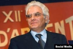 Новый президент Италии Серджио Маттарелла