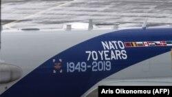 Самолет комплекса радиообнаружения и наведения НАТО