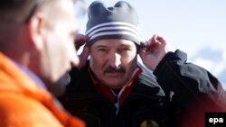 Բելառուսի նախագահ Ալեքսանդր Լուկաշենկոն Սոչիի ձմեռային Օլիմպիական խաղերում, 8-ը փետրվարի, 2014թ․