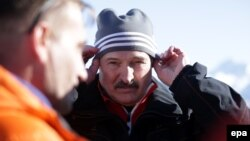 Аляксандар Лукашэнка ў Сочы