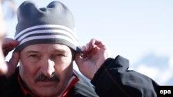 На снимке: президент Белоруссии Александр Лукашенко