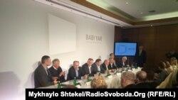 Перше засідання ради проекту зі створення меморіалу жертв Голокосту у Києві, 19 березня 2017 року