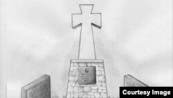Проект памятника «Крымчанам, погибшим в боях за единство Украины»