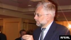 Григорий Марченко, Қазақстанның ұлттық банкінің төрағасы. Алматы, 23 сәуір 2009 жыл.