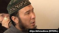 Один из подсудимых по делу «Таблиги Джамаат» Айхан Курмангалиев. Талдыкорган, 14 января 2015 года.