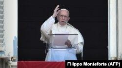 Папа римский Франциск, 19 августа 2018 года.