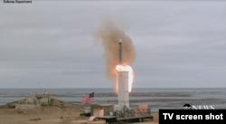 Первое испытание американской крылатой ракеты наземного базирования после прекращения действия Договора о запрете ракет средней и меньшей дальности