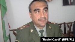 Махмадали Амрияздон, военный прокурор Хатлонской области