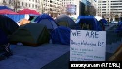 Лагерь движения в Вашингтоне