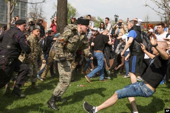 Разгон митинга в Москве, 5 мая 2018 года