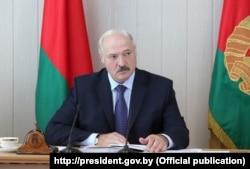 Бессменный президент Белоруссии Александр Лукашенко
