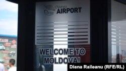 Pe aeroportul internațional Chișinău