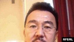 Германиялық еркін журналист әрі кәсіпкер Өмірхан Алтын.