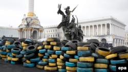 Майдан, фото 14 квітня 2014 року