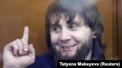 Заур Дадаев, один из осужденных по делу об убийстве Бориса Немцова