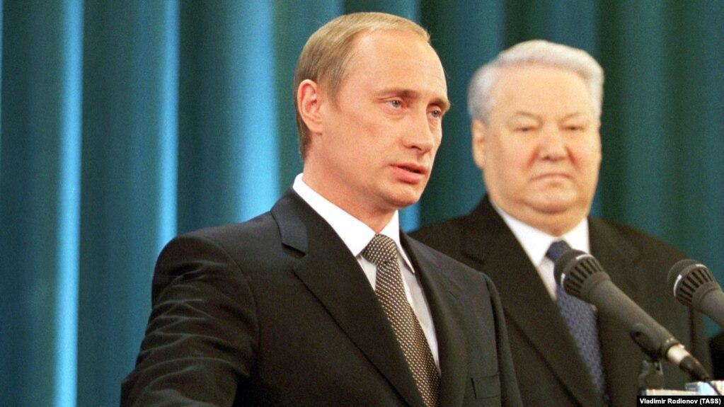 Инаугурация президента России Владимира Путина. Москва, 2000 год
