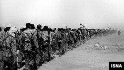 سربازان ایران در جنگ هشت ساله