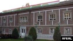 Здание Минздрава Таджикистана