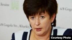 Уповноважена Верховної Ради з прав людини Валерія Лутковська