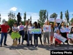 Акция в поддержку зеленых насаждений в Калининграде