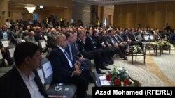 جانب من المؤتمر الأول للمحافظات العراقية في السليمانية