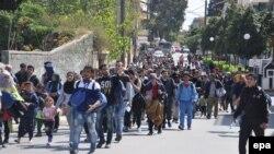 Migranti u Grčkoj, 1. april 2016. godine, ilustrativna fotografija