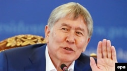 Kyrgyz President Almazbek Atambaev is constitutionally barred from running for a second term.