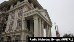 Новата зграда на Министерството за надворешни работи.