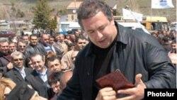 «Çiçəklənən Ermənistan» Partiyasının seçki yürüşü, 8 may 2007