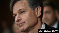 Incoming FBI Director Christopher Wray (file photo)