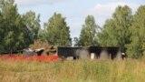 Каменка ауылындағы әскери қоймадағы жарылыстан бүлінген үйлердің бірі. Ресей, Красноярск өлкесі. 13 тамыз 2019 жыл.