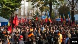 Moldovada etiraz aksiyası