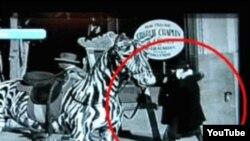 صحنه ای از فیلم سیرک چاپلین