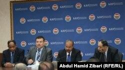 إجتماع الوفد المصري مع مسؤولين كرد في أربيل