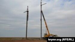 На кредитные средства планируется строительство трех подстанций и новой линии электропередачи протяженностью 364 километров. Иллюстративное фото.