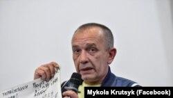 Голова Асоціації українців в Ірландії Микола Круцик