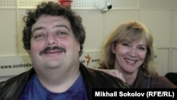 Дмитрий Быков и Елена Рыковцева