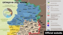 Украинанын картасы