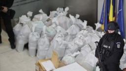 Cocaină capturată în Delta Dunării