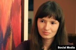 Активистка Олеся Вальгер