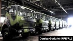 FAP je prošle godine proizveo deset kamiona za Vojsku Srbije, foto: Danica Gudurić