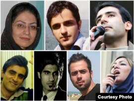Student Activists who were arrested during post-election's crackdown in different cities of Iran