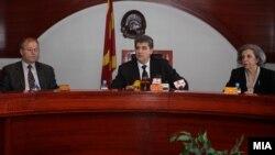 Претседателот на Уставениот суд Бранко Наумовски.
