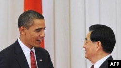 Obama and Hu met in person in Beijing in November 2009.